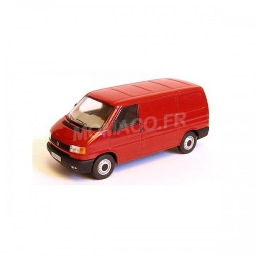1 43 combi miniature volkswagen vw t4 combi rouge premium classixxspremium13201 vente de. Black Bedroom Furniture Sets. Home Design Ideas