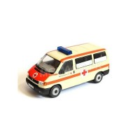 "1/43 COMBI MINIATURE DE COLLECTION VOLKSWAGEN VW T4 AMBULANCE ""ROT KREUZ""Premium ClassiXXsPREMIUM13256"