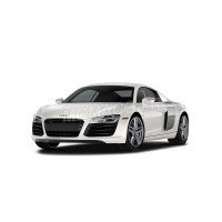 1/12 VOITURE MINIATURE DE COLLECTION AUDI R8 COUPE 2015 GRIS-Premium ClassiXXs-PREMIUM40040