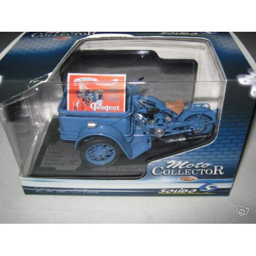 1 18 peugeot triporteur 55tn 1952 solido vente de voitures miniatures pour collectionneurs. Black Bedroom Furniture Sets. Home Design Ideas