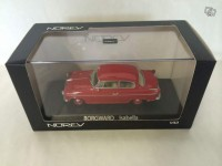 1/43 borgward isabella berline 1960 rouge Norev