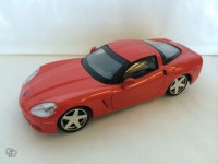 1/43 Chevrolet Corvette z51 coupe rouge ixo