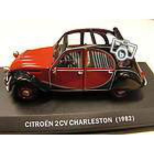 1 43 citro n 2cv charleston 1982 decapotable vente de voitures miniatures pour collectionneurs. Black Bedroom Furniture Sets. Home Design Ideas
