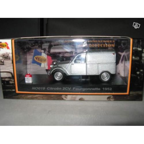1 43 citro n 2cv fourgonnette 1952 nostalgie vente de voitures miniatures pour collectionneurs. Black Bedroom Furniture Sets. Home Design Ideas