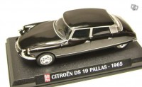 1/43 Citroën ds 19 pallas 1965 ixo
