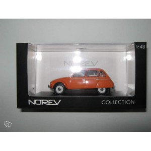 1/43 Citroën dyane 1974 orange Norev
