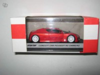 1/43 concept car Peugeot rc carreau rouge