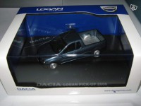 1/43 Dacia Logan pick-up 2008 eligor BLEU MINERAL