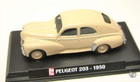 1/43 Peugeot 203 berline 1950 AUTO PLUS IXO