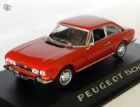 1/43 Peugeot 504 coupe 1969 rouge Norev475416