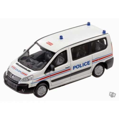 1 43 peugeot expert police mondo motors vente de voitures miniatures pour collectionneurs. Black Bedroom Furniture Sets. Home Design Ideas