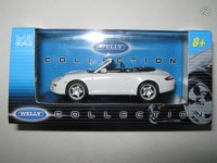 1/43 Porsche 911(997) carrera s blanche Welly