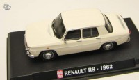 1/43 VOITURE MINIATURE DE COLLECTION RENAULT R8-1962-IXO AUTO PLUS