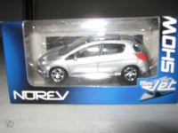 1/64 3inches voiture Peugeot 308 Norev