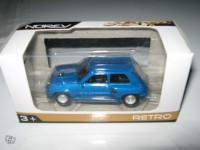 1/64 3 inches voiture Renault 5 turbo Norev