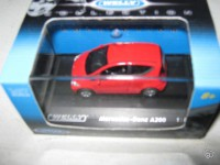 1/87 ho Mercedes-Benz a200 rouge Welly
