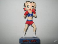 Figurine betty boop boxeuse n°36