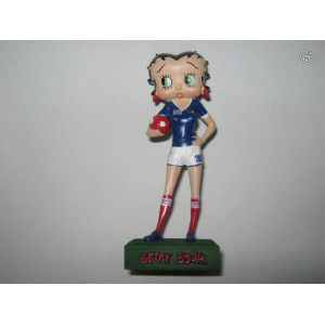 Figurine betty boop footballeuse n°13