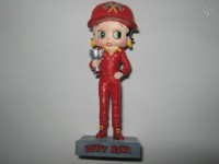 Figurine betty boop pilote de course n°11