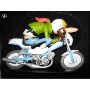 Figurine-Joe Bar Team mbk Mobylette 51 sport n°41