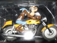 Figurine-Joe Bar Team moto Ducati 350 desmo n°2