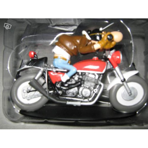 figurine joe bar team moto honda cb 750 n 1 vente de voitures miniatures pour collectionneurs. Black Bedroom Furniture Sets. Home Design Ideas