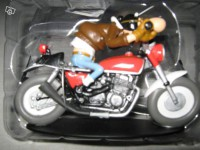 Figurine-Joe Bar Team moto Honda cb 750 n°1