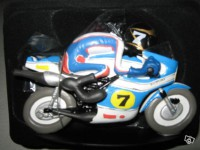 Figurine-Joe Bar Team moto Suzuki 500 rg n°35