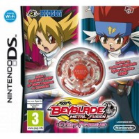 Jeu ds beyblade metal fusion+toupie rouge