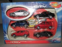 Lot de 6 3inches Mini-jet city Norev