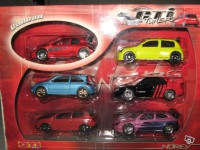 Lot de 6 3inches super GTi tuner Norev