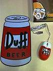 Souris+tapis homer simpson-the simpson duff beer