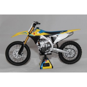 1/12 Motocross MINIATURE DE COLLECTION Suzuki RMZ 450-2018-Reproduction ConstructeurREP1870010