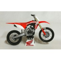 1/12 HONDA MOTOCROSS MOTO MINIATURE DE COLLECTION Honda CRF 450 R-2019-Reproduction ConstructeurREP1870008N