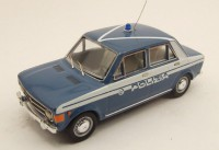 1/43 VEHICULE FORCES DE L'ORDRE MINIATURE DE COLLECTION POLICE ITALIENNE Fiat 128 Police-RIO4167