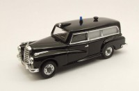 1/43 MERCEDES-BENZ VOITURE MINIATURE DE COLLECTION Mercedes 300 Ambulance Police Svizzera-1958-RIO4332