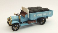 1/43 FIAT 18BL CAMION MINIATURE DE COLLECTION ITALIEN Fiat 18 BL Pirelli-1917-RIO4369