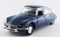 1/43 VEHICULE FORCES DE L'ORDRE GENDARMERIE MINIATURE DE COLLECTION Citroen DS 21 Gendarmerie-1972-RIO4486