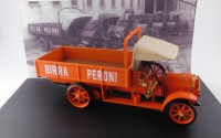 1/43 CAMION MINIATURE DE COLLECTION Fiat 18 BL Birra Peroni-RIO4576