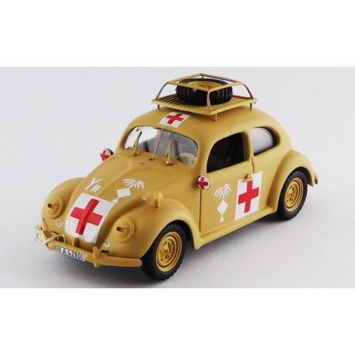 1 43 vehicule militaire miniature volkswagen coccinelle ambulance arm e africaine 1941 rio4525. Black Bedroom Furniture Sets. Home Design Ideas