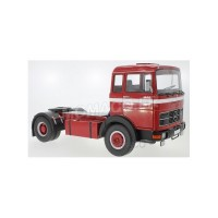 1/18 MERCEDES-BENZ CAMION MINIATURE DE COLLECTION TRACTEUR MERCEDES-BENZ LPS 1632 ROUGE/BLANC-ROADKINGSRK180021