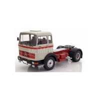 1/18 MERCEDES-BENZ CAMION MINIATURE DE COLLECTION TRACTEUR  MERCEDES-BENZ LPS 1632 GRIS/ROUGE-ROADKINGSRK180023