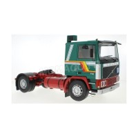 1/18 VOLVO CAMION MINIATURE DE COLLECTION TRACTEUR VOLVO F12 BLANC/BLEU-ROADKINGSRK180033