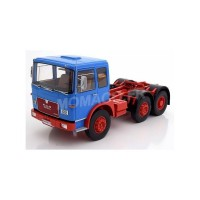 1/18 MAN F7 CAMION MINIATURE DE COLLECTION MAN F7 16.304 BLEU/ROUGE-ROADKINGSRK180051