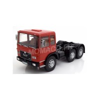 1/18 MAN F7 CAMION MINIATURE DE COLLECTION MAN F7 16.304 ROUGE/NOIR-ROADKINGSRK180053