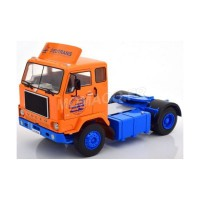 1/18 TRACTEUR CAMION VOLVO F88 1968 ORANGE/BLEUE-ROADKINGSRK180062