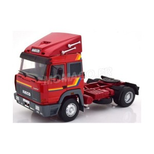 1/18 TRACTEUR CAMION IVECO TURBO STAR 1988 ROUGE-ROADKINGSRK180071