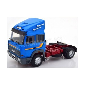 1/18 TRACTEUR CAMION IVECO TURBO STAR 1988 BLEUE-ROADKINGSRK180072
