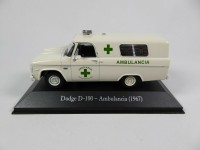 1/43 DODGE VÉHICULES DE SECOURS AMBULANCE Dodge D-100 Ambulance (1967)-Salvat collection Argentine