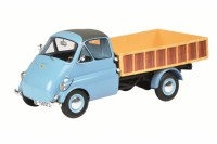1/18 CAMION MINIATURE DE COLLECTION ISOCARRO PICK-UP BLEUE-SCHUCO